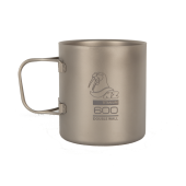 Титановая кружка Titanium Double Wall Mug 600 ml. TMDW-600FH / NZ